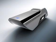 Concept Bluetooth Headset on Behance Body Worn Camera, Showroom Interior Design, Name Card Design, Industrial Design Sketch, Form Design, 3d Design, Medical Design, Truck Design, Design Research