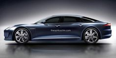Jaguar C-XJ concept car renderings