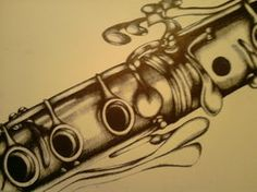 flute tattoos musical - Google Search