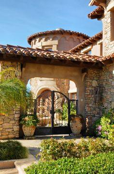 grand entrance Del Mar Meadows - San Diego