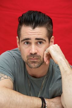Colin Farrell - Dead Man Down press conference portraits by Vera Anderson (Beverly Hills, March 6, 2013)