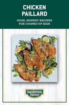 Chicken Paillard, Sandwiches, Easy Weeknight Meals, Mexican Food Recipes, Dinner Recipes, Pasta Salad, Chicken Salad, Cooking Recipes, Healthy Recipes