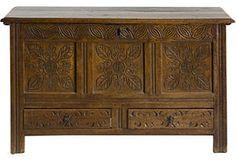 18th-C. Jacobean Carved Chest  https://www.onekingslane.com/vintage-market-finds/product/751906#