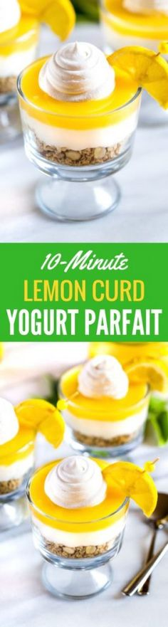 Lemon Yogurt Parfait