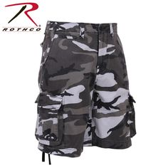 Rothco Vintage Camo Infantry Utility Shorts - City Camo  Only $37.99  *Price subject to change without notice.