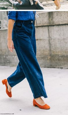 Love these colors and the easy looseness of the pant
