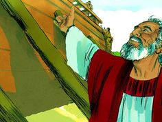 Noah and the Ark :: Noah building the Ark and the great flood (Genesis - Free Stories, Bible Stories, Noah Building The Ark, Free Bible Images, Genesis 6, Home Photo, Christian Faith, Photo Illustration