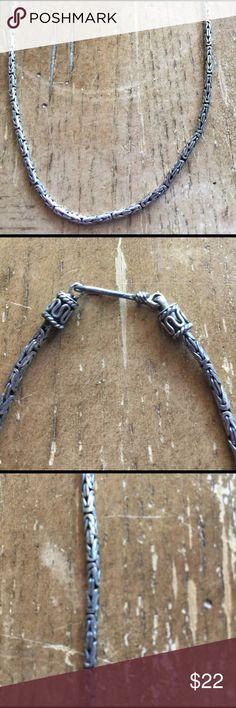 Necklace vintage Sterling silver solid 925🌺 Necklace vintage Sterling silver solid 925🌺 Jewelry Necklaces