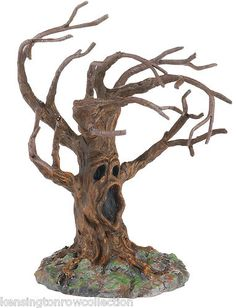 DEPT 56 HALLOWEEN VILLAGE - STORMY NIGHT TREE - NEW FOR 2012