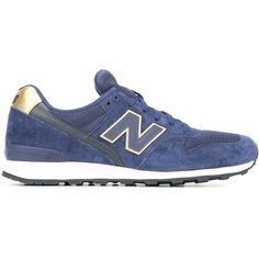 New Balance 996 Sneakers ($117) ❤ liked on Polyvore featuring shoes, sneakers, blue, blue suede sneakers, blue sneakers, suede shoes, new balance shoes and new balance footwear