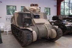 "The Medium Tank M3 was an American tank used during World War II. In Britain the tank was called by two names based on the turret configuration. Tanks employing US pattern turrets were called the ""General Lee"", named after Confederate General Robert E. Lee. Variants using British pattern turrets were known as ""General Grant"", named after U.S. General Ulysses S. Grant. #tank #ww2"