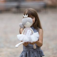 Beautiful Rag Doll Sleeping Ballerina for Little Dancers Room