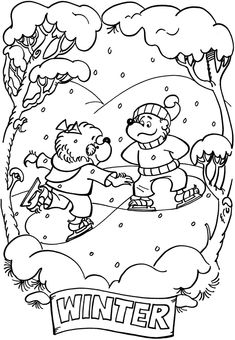 From: The Berenstain Bears® -- A Bear Country Alphabet Coloring ...