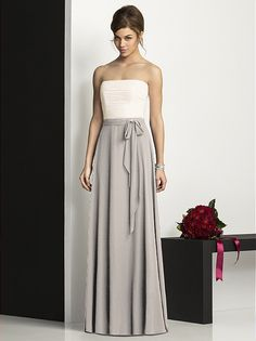 After Six Bridesmaids Style 6677 http://www.dessy.com/dresses/bridesmaid/6677/?color=palomino&colorid=63#.UjfBNcu9KK0