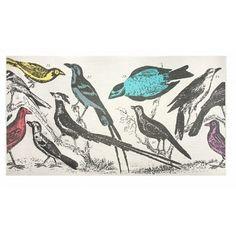Thomas Paul bird pillow