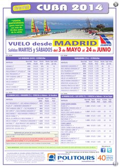 CUBA: Varadero, sal. del 31/05 al 24/06 desde Madrid (8d/6n) desde 835€ ultimo minuto - http://zocotours.com/cuba-varadero-sal-del-3105-al-2406-desde-madrid-8d6n-desde-835e-ultimo-minuto/