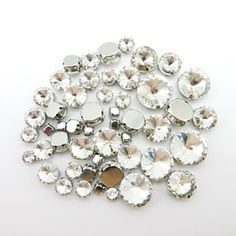 Good Chance of Mix Rivoli round shape 7 sizes silver claw setting clear crystal strass sew on rhinestone beads wedding dress shoes diy trimIf You search information for wedding shoes, then Mix Rivoli round shape 7 sizes silver claw setting clear crystal strass sew on rhinestone beads wedding dress shoes diy trim may be make you likeBuy Mix Rivoli round shape 7 sizes silver claw setting clear crystal strass sew on rhinestone beads wedding dress shoes diy trim Right Here and Right Now and You… Sequin Wedding, Wedding Shoes, Wedding Dresses, Gold Light, Wedding Crafts, Clear Crystal, Color Mixing, Dress Shoes, Sew