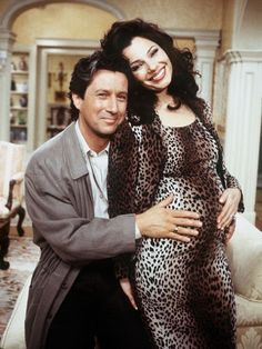 Where it all began! The Most Stylish TV Characters of All-Time: Fran Drescher as Fran Fine on The Nanny, Fran Drescher, Fran Fine Outfits, Shiva, Charles Shaughnessy, A Nanny, Nostalgia, Movie Couples, Celebs, Celebrities