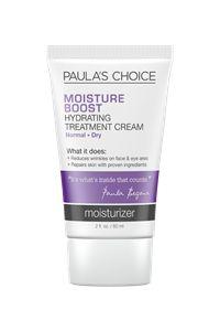 Moisture Boost Cream #paulaschoice #fragrancefreeproducts #crueltyfreeproducts