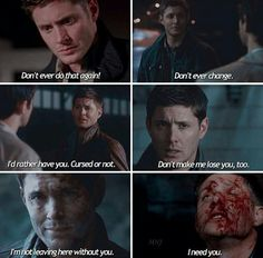 """How to say """"I love you"""" by Dean Winchester"""