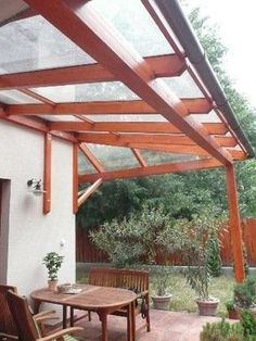 Pergola In Front Of House Product Patio Gazebo, Pergola With Roof, Backyard Patio Designs, Outdoor Pergola, Patio Roof, Back Patio, Backyard Landscaping, Balustrade Inox, Patio Makeover