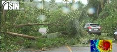 Irma se hace sentir en Samaná con fuertes lluvias