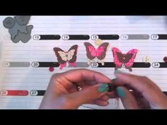 SAF 2012 - Handmade Butterfly Embellishments
