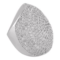 shaze rhodium-plated Rare Ring -- Awesome products selected by Anna Churchill