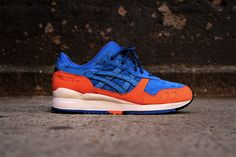 c8a5e4085ec Ronnie Fieg X Asics Gel Lyte III - New York City Basket Sneakers, Shoes  Sneakers