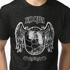"""Koopa"" Geeky Tee, only available at geekprint.net"