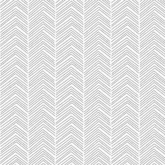 chevron ♥ grey and white fabric by misstiina on Spoonflower - custom fabric