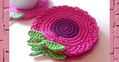 Crochet Coasters Garland Bunting Pattern Bowls Placemats Birdhouses, Wedding and Nursery Decoration. Attractive crochet items to your Sweet Home Crochet Art, Crochet Home, Love Crochet, Crochet Motif, Crochet Doilies, Easy Crochet, Crochet Flowers, Crochet Applique Patterns Free, Crochet Potholders