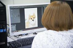 【バンタンゲームアカデミー】2DCGの授業の潜入!Photoshopの基礎テクニックを学ぼう!