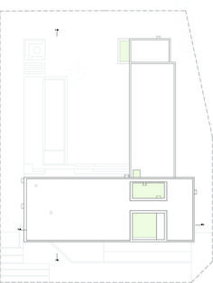 Image 25 of 37 from gallery of BT House / Estudio Jorgelina Tortorici Arq. Photograph by Alejandro Peral Residential Architecture, Architecture Design, Casa Art Deco, Best Modern House Design, Architectural Floor Plans, Concrete Houses, Basement Plans, Ground Floor Plan, Roof Plan