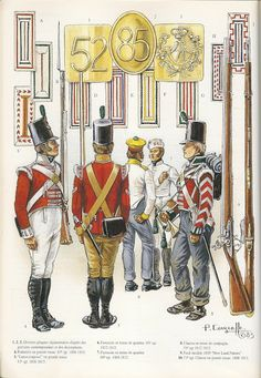 SOLDIERS- Courcelle: NAP- Britain: British Light Infantry 1807-15, by Patrice Courcelle.