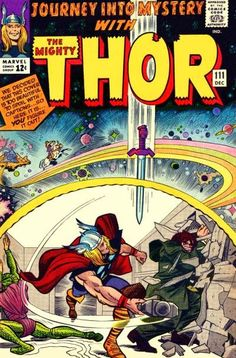 Journey into Mystery #111. Thor vs Mr Hyde and the Cobra.
