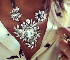 Diamond flower