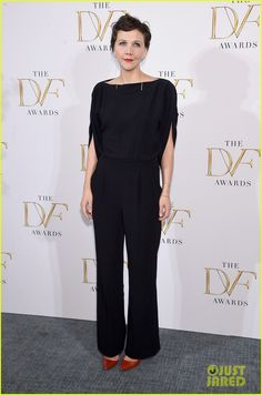 Maggie Gyllenhaal at DVF Awards 2015