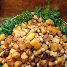 chickpeas and potatoes baked #vegan #salad #organic #fairtrade