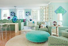 home decorating ideas green turquoise living room home trends