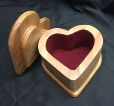 Hand crafted heart shaped bandsaw jewelry / by RGSWoodDesigns