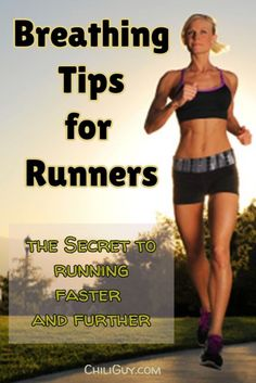 Breathing Tips for Beginner Runners: This is how you run faster, further, and longer.