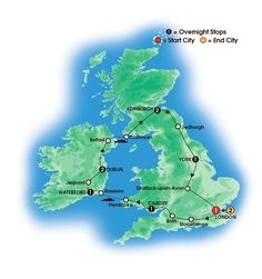 Ireland and Britain Tours - An Irish and British vacation to remember with CIE Tours!