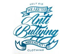 Project365 #48 We are the Anti Bulling Movement by bijdevleet