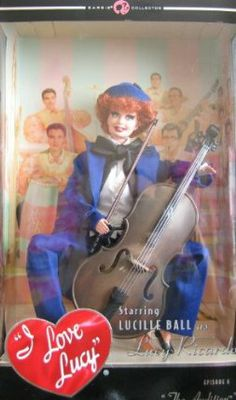 Barbie Collector I Love Lucy The Audition Doll Episode 6 (2007) by Mattel. $78.77. Barbie Collector I Love Lucy The Audition Doll Episode 6 (2007) Mattel. Barbie Collector I Love Lucy The Audition Doll Episode 6 (2007)