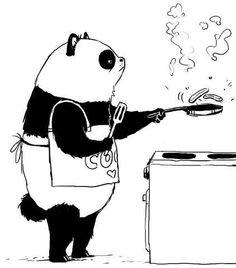 Panda Funny Panda Pictures, Panda Funny, Animal Pictures, Panda Art, Panda Panda, Animals And Pets, Cute Animals, Panda Illustration, Panda Drawing