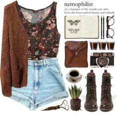 """The Woods"" by ctodtims on Polyvore"
