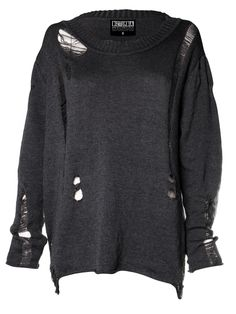 Destroyed Unisex Jumper - Disturbia Clothing £28.75