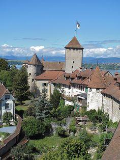 Stadt Murten. Schweiz. / Ville de Morat. Suisse.