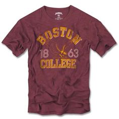 College '47 Brand Boston College Eagles Vintage Scrum T-Shirt - Maroon